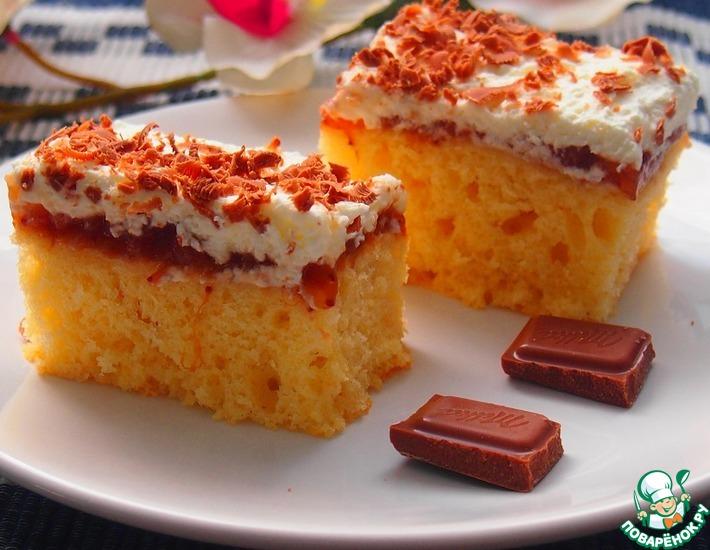Рецепт: Нежное пирожное