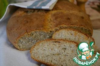 Рецепт: Хлеб с хлопьями и семенами тыквы