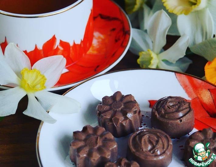 Рецепт: Банановые конфеты на кокосовом масле
