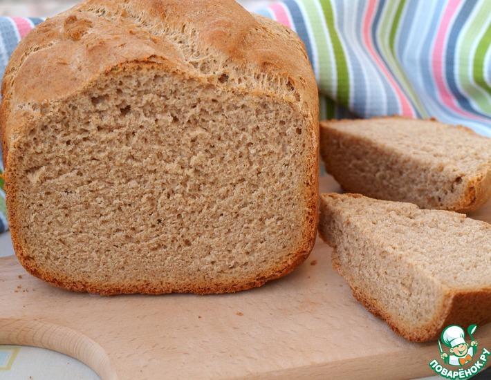 Рецепт: Ржаной хлеб на тёмном пиве в хлебопечке