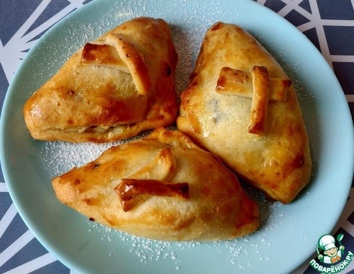 Рецепт: Творожные пирожки