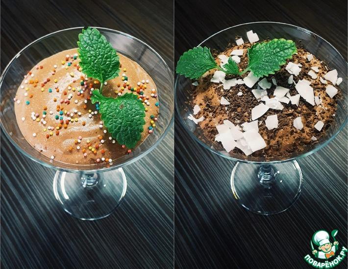 Рецепт: Творожный пп мусс с йогуртом