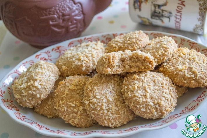 """Печенье с кокосовой пастой """"Кокосомания"""""""