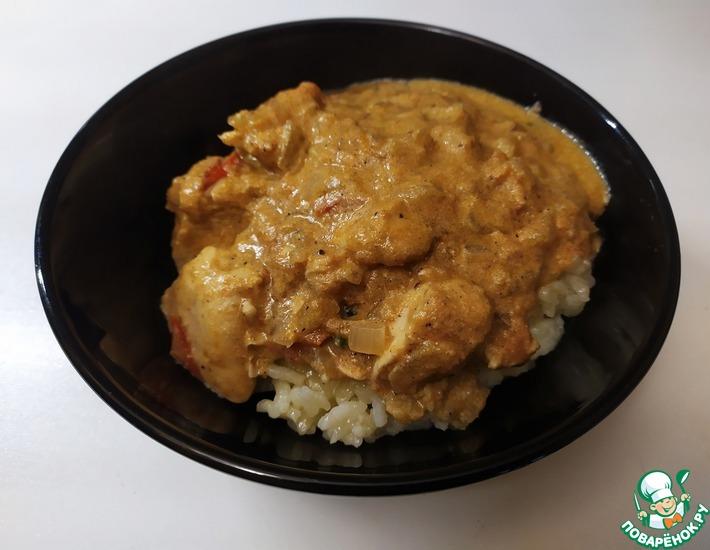 Рецепт: Курица карри