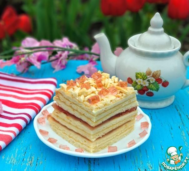"Торт ""Наполеон с желе"" в мультипекаре"