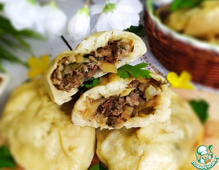 Рецепт: Пирожки Пян-се в мультиварке-скороварке