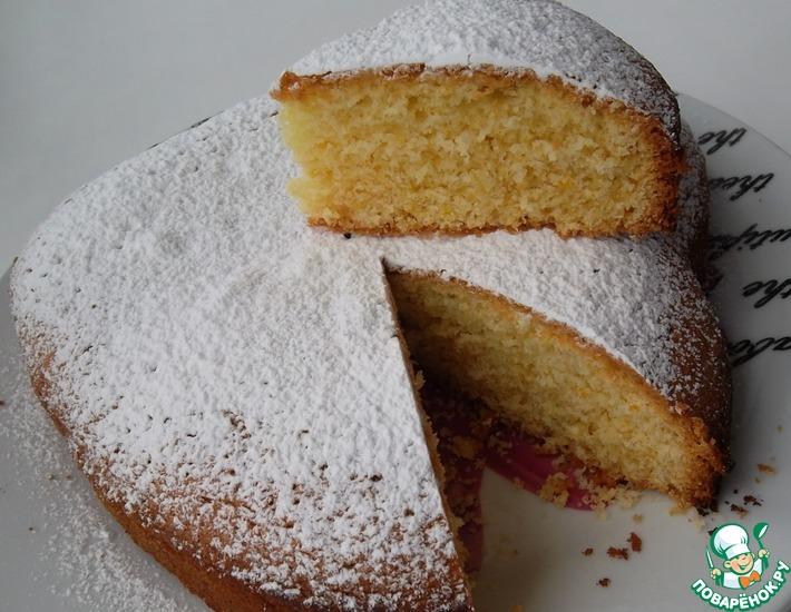 Рецепт: Райский торт