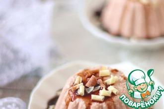 Рецепт: Десерт творожно-шоколадный