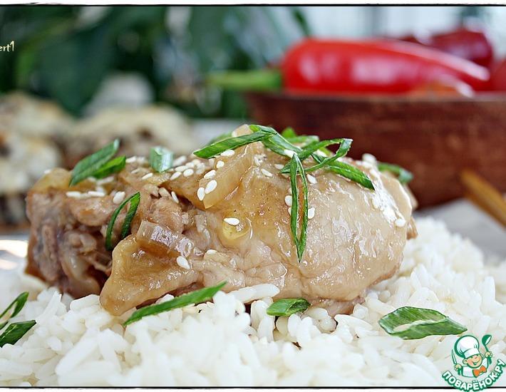 Рецепт: Курица Булгоги