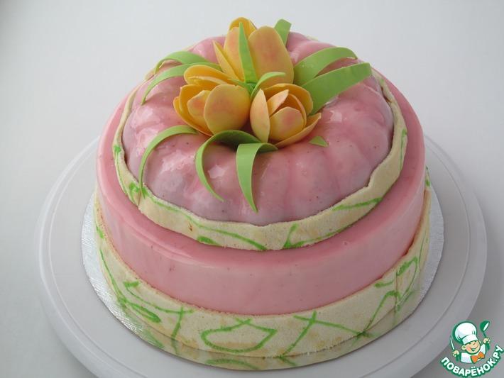 """Муссовый торт """"Весенний"""""""