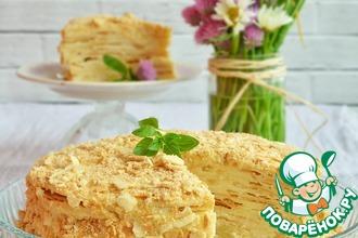 Рецепт: Торт Наполеон на Карибах
