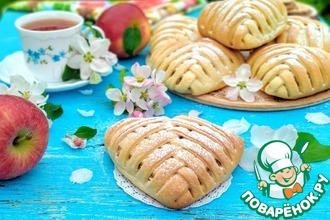 Рецепт: Песочные пирожные с двойной начинкой