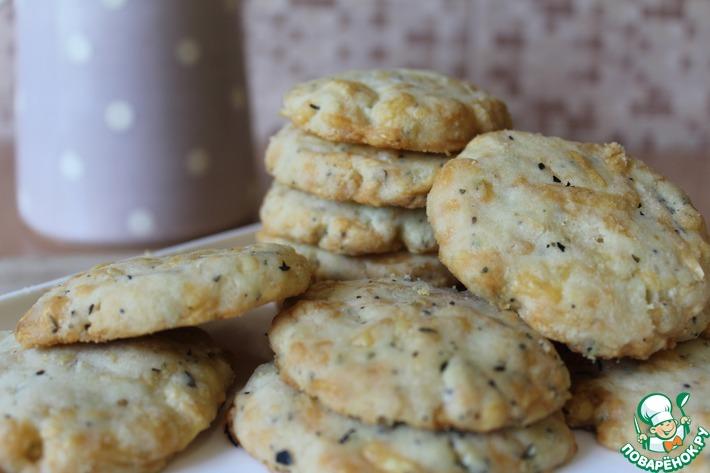 Сырное печенье к пиву или вину