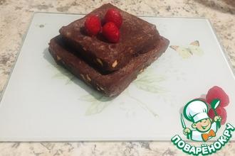 Рецепт: Низкоуглеводная шоколадная помадка с миндалем