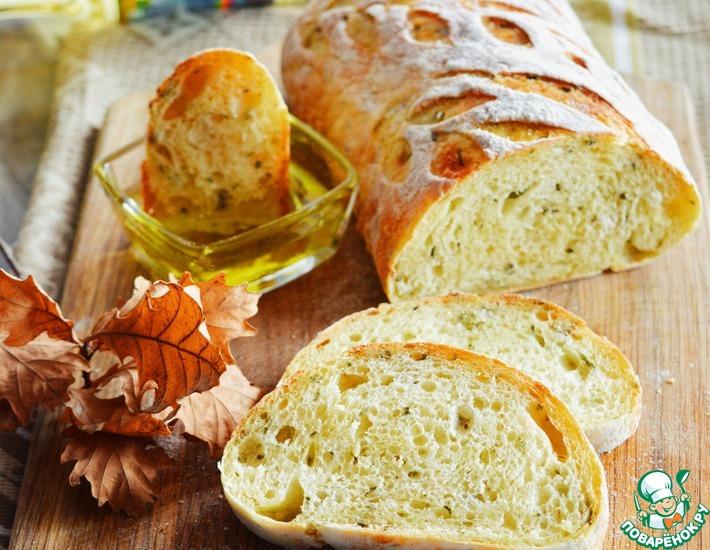 Рецепт: Сельский картофельный хлеб