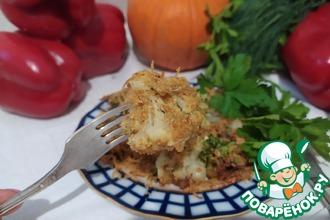 Рецепт: Брокколи и цветная капуста под хрустящей корочкой