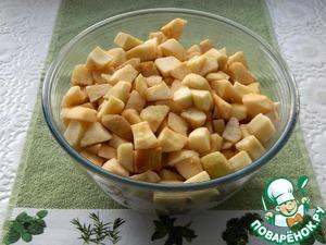 Яблочный кухен Экономично, быстро, вкусно ингредиенты