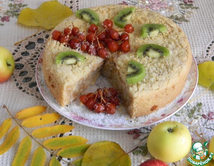 Рецепт: Яблочный кухен Экономично, быстро, вкусно