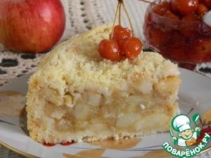 Яблочный кухен Экономично, быстро, вкусно