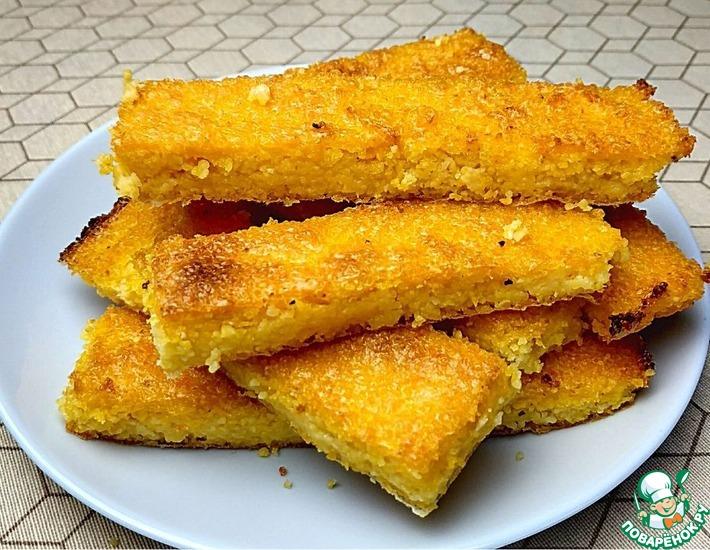 Рецепт: Кукурузные хлебцы