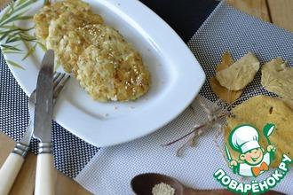 Рецепт: Рубленые котлеты из кальмаров и картофеля