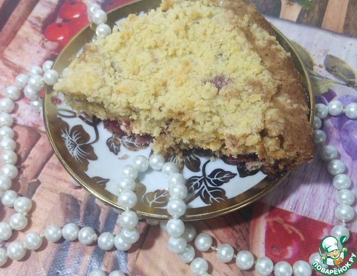 Рецепт: Американский кекс Бакл с ягодами