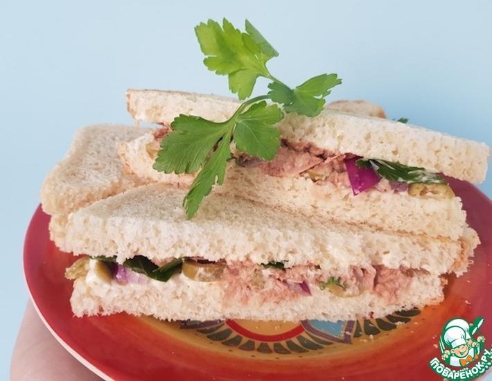Сандвичи с тунцом