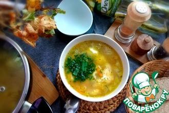 Рецепт: Суп с галушками