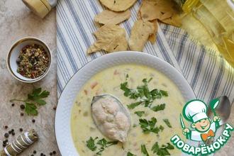 Рецепт: Густой рыбный суп А-ля Ватерзой