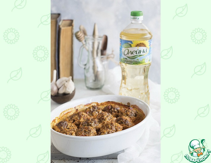 Рецепт: Тефтели под сметанным соусом