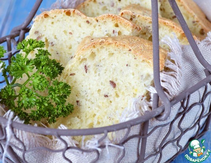 Рецепт: Постный хлеб на пшенной каше