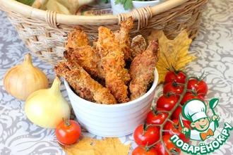 Рецепт: Стрипсы из куриного филе