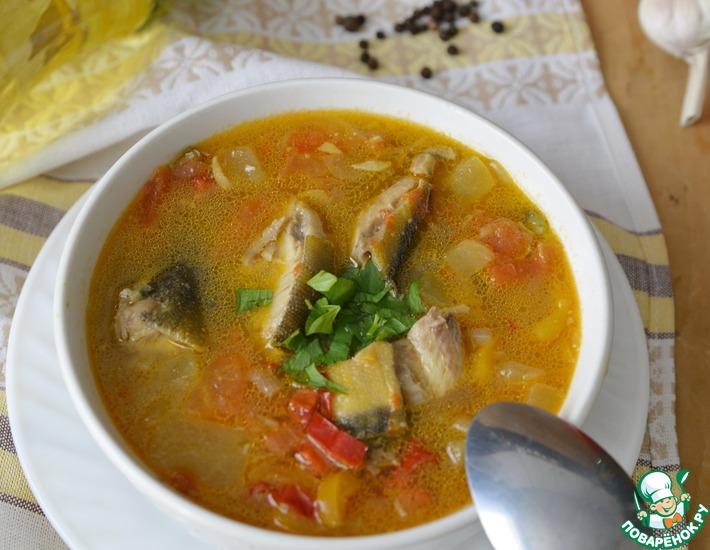 Рецепт: Суп-рагу из рыбы с овощами