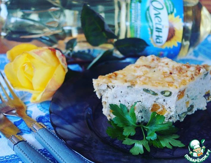 Рецепт: Мясная запеканка с осенними овощами