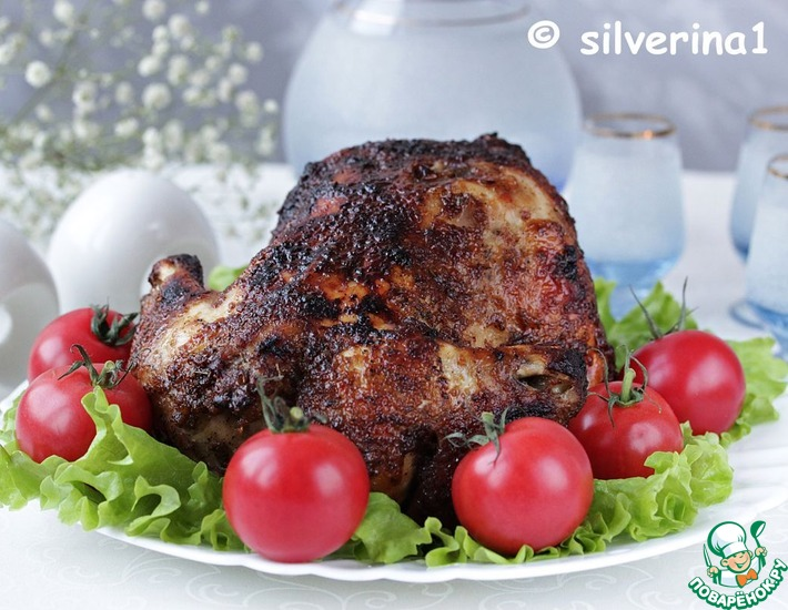 Рецепт: Курица в остром маринаде