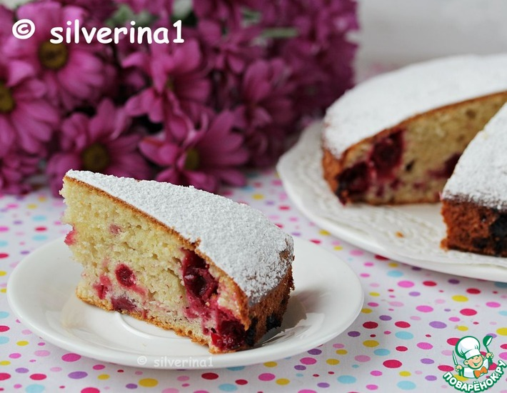 Рецепт: Пирог с ягодами Домашний