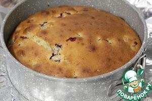Пирог с ягодами Домашний Мука пшеничная
