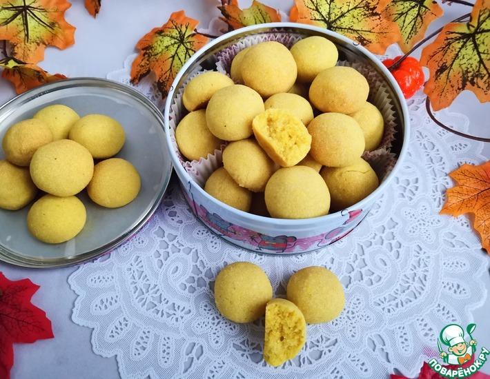 Рецепт: Печенье Нан хати с карри