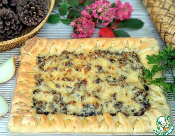 Рецепт: Пирог с жюльеном