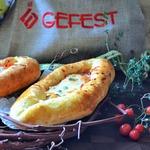 Пирожки-лодочки с овощами и сыром
