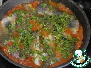 Тушёная белая рыба по-ливийски Кинза