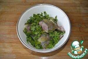 Тушёная белая рыба по-ливийски ингредиенты