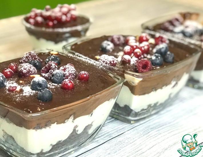 Рецепт: Многослойный английский десерт Трайфл