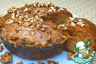 Рецепт: Торт с вареной сгушенкой