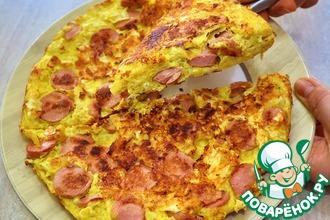 Рецепт: Вкусный и быстрый завтрак из лаваша