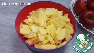 Яблочный пирог без яиц на кефире ингредиенты