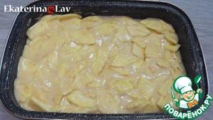 Яблочный пирог без яиц на кефире Крупа манная