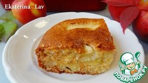 Яблочный пирог без яиц на кефире Кефир