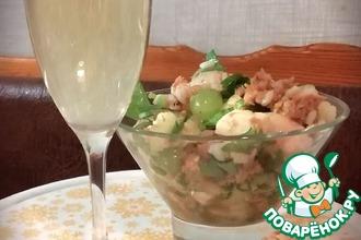Рецепт: Салат к брюту Брависсимо!