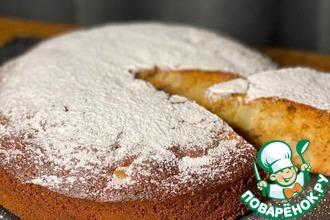 Рецепт: Грушевый пирог с медом и орехами